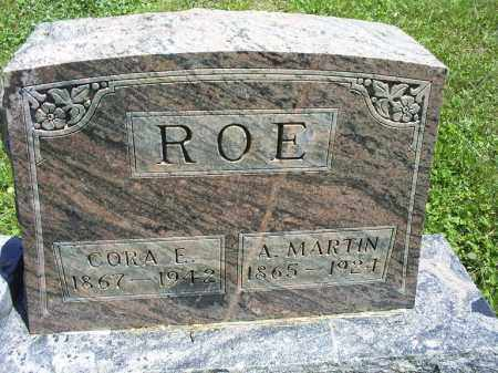 ROE, CORA E. - Ross County, Ohio | CORA E. ROE - Ohio Gravestone Photos