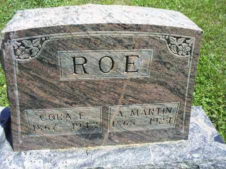 ROE, A. MARTIN - Ross County, Ohio | A. MARTIN ROE - Ohio Gravestone Photos