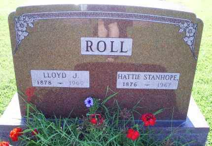 STANHOPE ROLL, HATTIE - Ross County, Ohio | HATTIE STANHOPE ROLL - Ohio Gravestone Photos