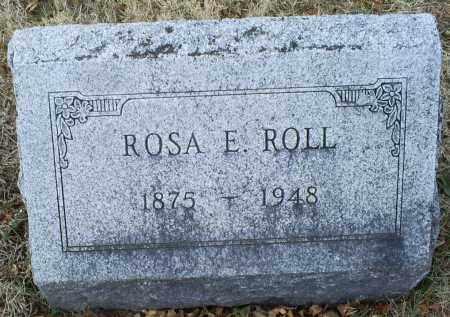 ROLL, ROSA E. - Ross County, Ohio | ROSA E. ROLL - Ohio Gravestone Photos