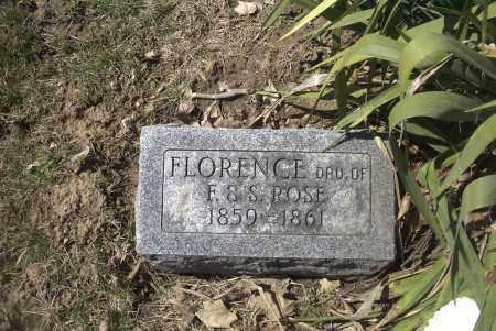 ROSE, FLORENCE - Ross County, Ohio | FLORENCE ROSE - Ohio Gravestone Photos