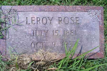 ROSE, LEROY - Ross County, Ohio | LEROY ROSE - Ohio Gravestone Photos