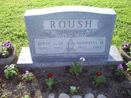 ROUSH, HENRIETTA M. - Ross County, Ohio   HENRIETTA M. ROUSH - Ohio Gravestone Photos