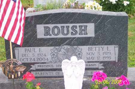 ROUSH, PAUL - Ross County, Ohio | PAUL ROUSH - Ohio Gravestone Photos
