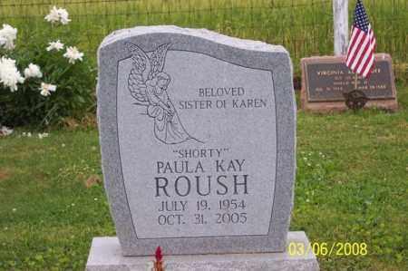 ROUSH, PAULA - Ross County, Ohio   PAULA ROUSH - Ohio Gravestone Photos