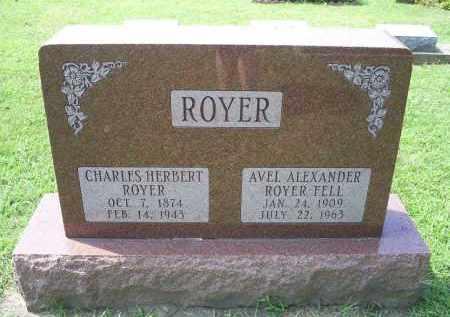 ALEXANDER ROYER, AVEL - Ross County, Ohio | AVEL ALEXANDER ROYER - Ohio Gravestone Photos