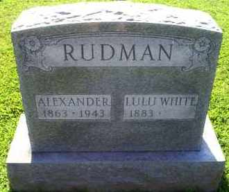 RUDMAN, LULU - Ross County, Ohio | LULU RUDMAN - Ohio Gravestone Photos