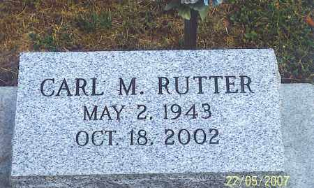 RUTTER, CARL M. - Ross County, Ohio   CARL M. RUTTER - Ohio Gravestone Photos