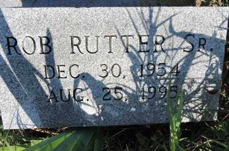 RUTTER, ROB - Ross County, Ohio | ROB RUTTER - Ohio Gravestone Photos