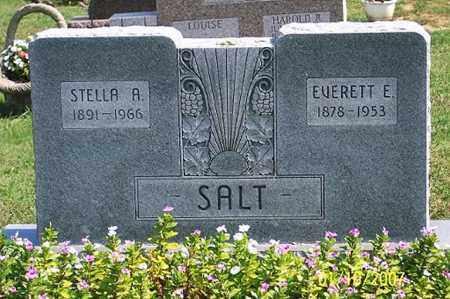 SALT, EVERETT E. - Ross County, Ohio | EVERETT E. SALT - Ohio Gravestone Photos