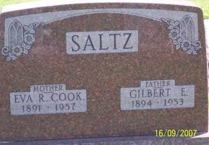 SALTZ, GILBERT E. - Ross County, Ohio | GILBERT E. SALTZ - Ohio Gravestone Photos