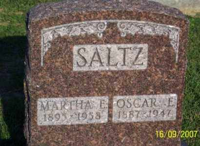 SALTZ, OSCAR E. - Ross County, Ohio | OSCAR E. SALTZ - Ohio Gravestone Photos
