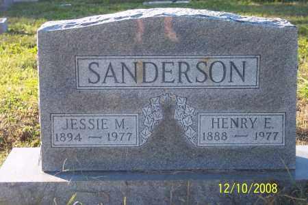 SANDERSON, JESSIE M. - Ross County, Ohio | JESSIE M. SANDERSON - Ohio Gravestone Photos