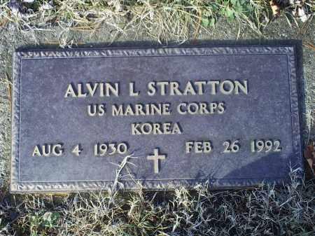 SATRATTON, ALVIN L. - Ross County, Ohio   ALVIN L. SATRATTON - Ohio Gravestone Photos