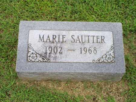 SAUTTER, MARIE - Ross County, Ohio | MARIE SAUTTER - Ohio Gravestone Photos