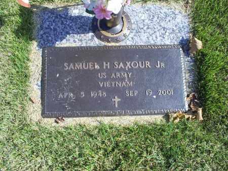 SAXOUR, SAMUEL H.JR. - Ross County, Ohio | SAMUEL H.JR. SAXOUR - Ohio Gravestone Photos