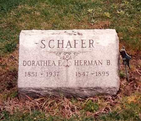 SCHAFER, HERMAN BERHARD - Ross County, Ohio | HERMAN BERHARD SCHAFER - Ohio Gravestone Photos