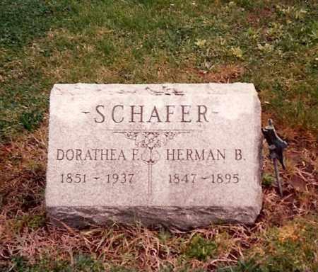 SCHAFER, HERMAN B. - Ross County, Ohio | HERMAN B. SCHAFER - Ohio Gravestone Photos