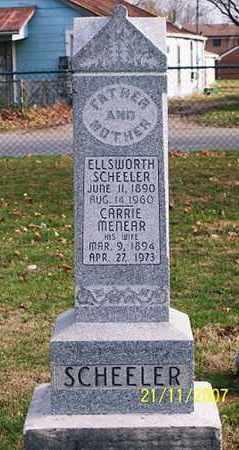 SCHEELER, ELLSWORTH - Ross County, Ohio | ELLSWORTH SCHEELER - Ohio Gravestone Photos