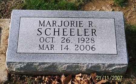 SCHEELER, MARJORIE R. - Ross County, Ohio | MARJORIE R. SCHEELER - Ohio Gravestone Photos