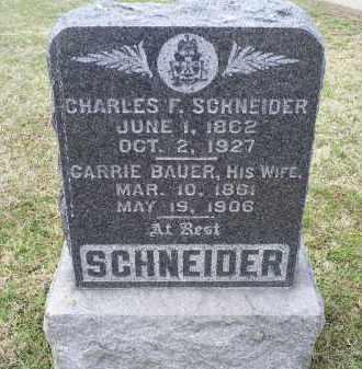 SCHNEIDER, CARRIE - Ross County, Ohio | CARRIE SCHNEIDER - Ohio Gravestone Photos
