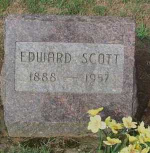 SCOTT, EDWARD - Ross County, Ohio | EDWARD SCOTT - Ohio Gravestone Photos