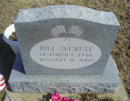 SECREST, BILL - Ross County, Ohio | BILL SECREST - Ohio Gravestone Photos