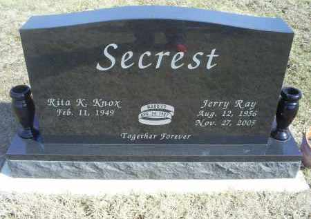 SECREST, JERRY RAY - Ross County, Ohio | JERRY RAY SECREST - Ohio Gravestone Photos