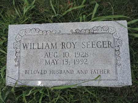 SEEGER, WILLIAM ROY - Ross County, Ohio | WILLIAM ROY SEEGER - Ohio Gravestone Photos