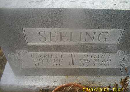 SEELING, CHARLES E. - Ross County, Ohio | CHARLES E. SEELING - Ohio Gravestone Photos