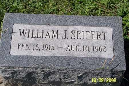 SEIFERT, WILLIAM J. - Ross County, Ohio | WILLIAM J. SEIFERT - Ohio Gravestone Photos