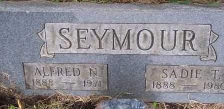 SEYMOUR, ALFRED N. - Ross County, Ohio | ALFRED N. SEYMOUR - Ohio Gravestone Photos