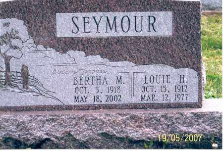 SEYMOUR, LOUIE H. - Ross County, Ohio | LOUIE H. SEYMOUR - Ohio Gravestone Photos
