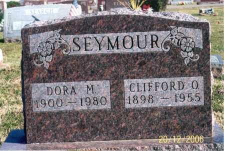 SEYMOUR, CLIFFORD O. - Ross County, Ohio   CLIFFORD O. SEYMOUR - Ohio Gravestone Photos