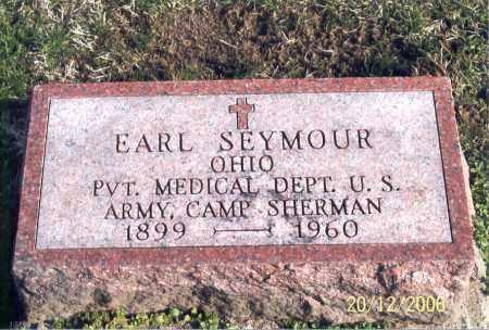 SEYMOUR, EARL - Ross County, Ohio | EARL SEYMOUR - Ohio Gravestone Photos