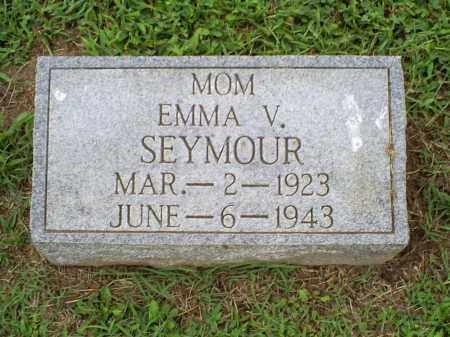 SEYMOUR, EMMA V. - Ross County, Ohio   EMMA V. SEYMOUR - Ohio Gravestone Photos