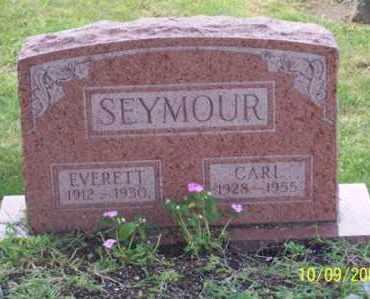 SEYMOUR, EVERETT - Ross County, Ohio   EVERETT SEYMOUR - Ohio Gravestone Photos