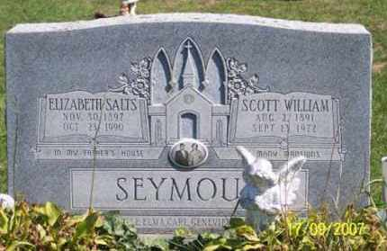 SEYMOUR, ELIZABETH - Ross County, Ohio | ELIZABETH SEYMOUR - Ohio Gravestone Photos