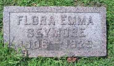 SEYMORE, FLORA EMMA - Ross County, Ohio   FLORA EMMA SEYMORE - Ohio Gravestone Photos
