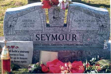 SEYMOUR, GORDON A. - Ross County, Ohio | GORDON A. SEYMOUR - Ohio Gravestone Photos