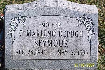 DEPUGH SEYMOUR, G. MARLENE - Ross County, Ohio   G. MARLENE DEPUGH SEYMOUR - Ohio Gravestone Photos