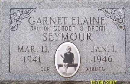 SEYMOUR, GARNET ELAINE - Ross County, Ohio | GARNET ELAINE SEYMOUR - Ohio Gravestone Photos