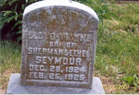 SEYMOUR, LLOYD WAYNE - Ross County, Ohio | LLOYD WAYNE SEYMOUR - Ohio Gravestone Photos