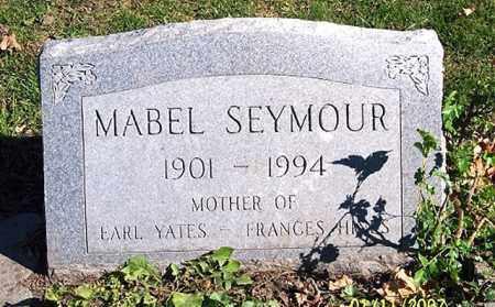 SEYMOUR, MABEL - Ross County, Ohio   MABEL SEYMOUR - Ohio Gravestone Photos