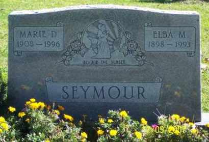 SEYMOUR, ELBA M. - Ross County, Ohio | ELBA M. SEYMOUR - Ohio Gravestone Photos