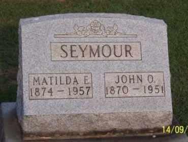SEYMOUR, JOHN O. - Ross County, Ohio | JOHN O. SEYMOUR - Ohio Gravestone Photos
