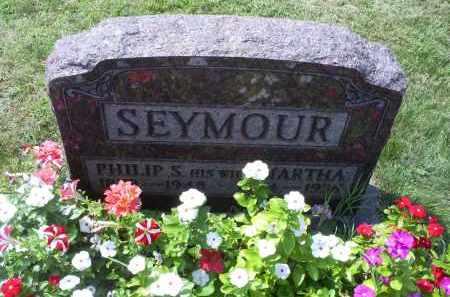 SEYMOUR, PHILIP S. - Ross County, Ohio | PHILIP S. SEYMOUR - Ohio Gravestone Photos