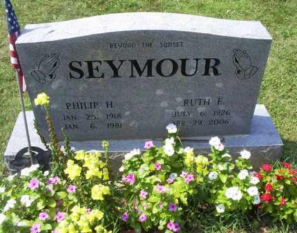 SEYMOUR, PHILIP H. - Ross County, Ohio   PHILIP H. SEYMOUR - Ohio Gravestone Photos