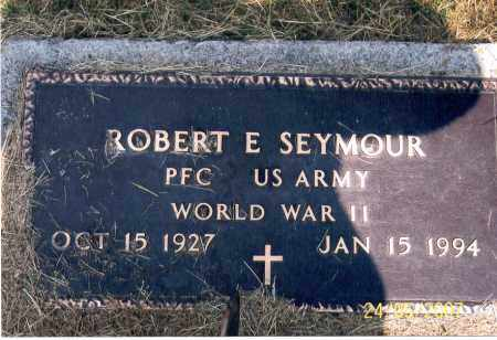 SEYMOUR, ROBERT E. - Ross County, Ohio | ROBERT E. SEYMOUR - Ohio Gravestone Photos