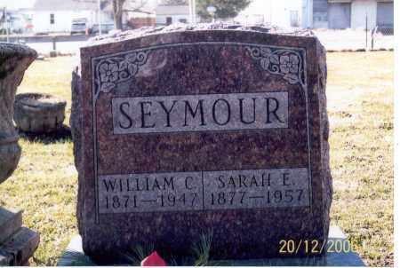 SEYMOUR, WILLIAM C. - Ross County, Ohio | WILLIAM C. SEYMOUR - Ohio Gravestone Photos
